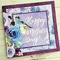 BO BUNNY Papierblock, von Bo Bunny, Secret Garden, 15,5 x 15,5 cm, 36 Blatt!