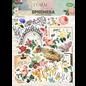 Embellishments / Verzierungen Floral Tapestry Ephemera SET, 24 delen!