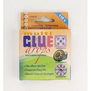 BASTELZUBEHÖR, WERKZEUG UND AUFBEWAHRUNG Mini adhesive dots, 4 mm diameter, thickness 110 pieces