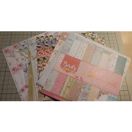 Joy!Crafts / Jeanine´s Art, Hobby Solutions Dies /  Papier à motifs, 15,2 x 15,2 cm, 23 feuilles imprimées recto verso, 170gr