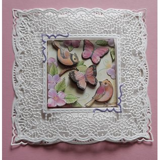 Joy!Crafts / Jeanine´s Art, Hobby Solutions Dies /  A4 stansvel, Happy Birds