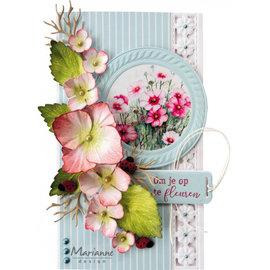 Marianne Design Foglio illustrativo, A4, Mattie's Mooiste - Floral Spring