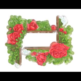 Tattered Lace NIEUW! Snij en embossmal / Sjabloon: Romantic Roses