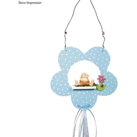 Make beautiful decorations with the wooden flower