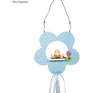 Maak mooie versieringen met de houten bloem