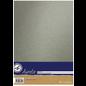 AURELIE Cardstock, Mettalic, silber,  10 Blatt, zweiseitig,  250 gr./m²