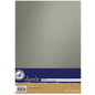 AURELIE Karton, Mettalic, zilver, 10 vellen, dubbelzijdig, 250 g / m²