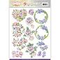 Joy!Crafts / Jeanine´s Art, Hobby Solutions Dies /  Pushout - Jeanine's Art - Vintage Flowers - Romantic Purple