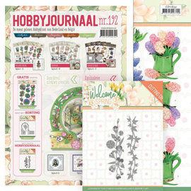 Bücher, Zeitschriften und CD / Magazines Hobby journal No. 192 + punching stencils and picture sheets