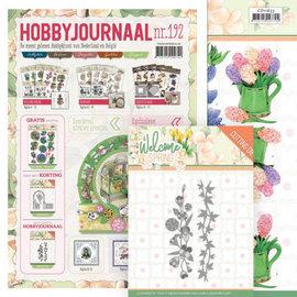 Bücher, Zeitschriften und CD / Magazines Hobbyjournaal nr. 192 + ponssjablonen en plaatjesbladen