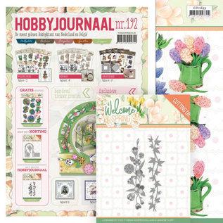 Bücher, Zeitschriften und CD / Magazines Hobby journal No. 192 + plantillas de perforación y hojas de imágenes