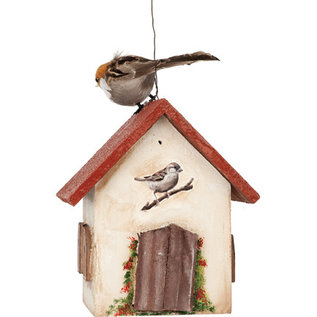 DECOUPAGE AND ACCESSOIRES Kit de découpage, oiseaux, avec 8 feuilles A4