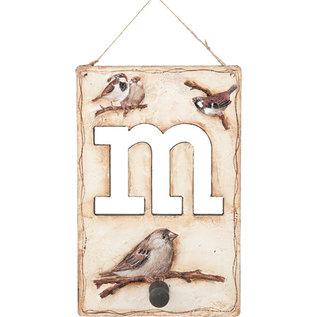DECOUPAGE AND ACCESSOIRES Decoupage SET, Birds, med 8x A4 ark