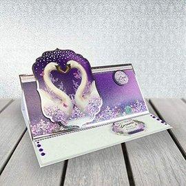 """Hunkydory Luxus Sets Håndverkssett for 2 edle kort """"Wishes on Wings"""" fra Hunkydory"""