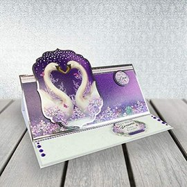 "Hunkydory Luxus Sets Set artigianale per 2 carte nobili ""Wishes on Wings"" di Hunkydory"