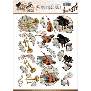 AMY DESIGN Push Out / Die Cut, Amy Design, Sounds of Music, Classic