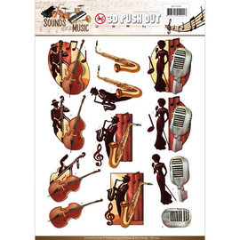 AMY DESIGN Push Out - Amy Design - Geluiden van muziek - Jazz