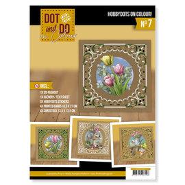 AMY DESIGN Knutselpakket: Dot and Do on Color 7 - Amy Design - Enjoy Spring