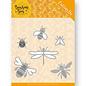 Joy!Crafts / Jeanine´s Art, Hobby Solutions Dies /  Ensemble de collection, 2 jeux de gabarits de perforation divers + 3 feuilles de perforation, abeilles