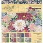 GRAPHIC 45 Designerblok, papierblok, Blossom, 20,3 x 20,3 cm