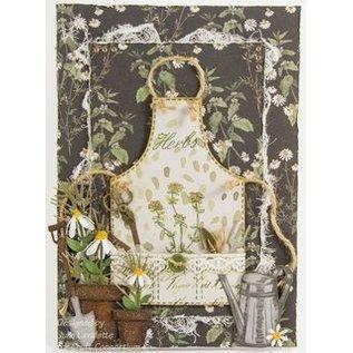 Craft Consortium Stempelmotive, Transparent,  A5 Format, Wildflowers