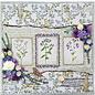 Craft Consortium Stempelmotieven, transparant, A5-formaat, wilde bloemen