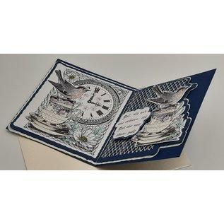Craft Consortium Stempelmotieven, 10 x 8 cm, rubber niet gemonteerd, voor ontwerp op kaarten, albums, collages en nog veel meer