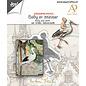 Mal for skjæring, preging og preging, baby med stork, Joy Crafts, 6002/1612