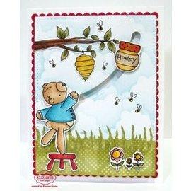 Elisabeth Craft Dies , By Lene, Lawn Fawn Elizabeth Crafts, Stamp, Transparent, Honey Bear
