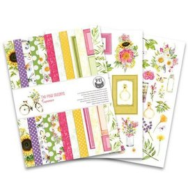 Karten und Scrapbooking Papier, Papier blöcke Designer Papierblock,  Format 20 x 15 cm, The Four Seasons