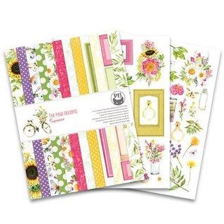Karten und Scrapbooking Papier, Papier blöcke Blocco di carta di design, formato 20 x 15 cm, Le quattro stagioni