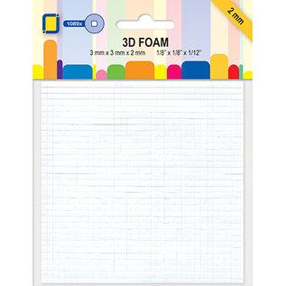 3D foam pads, 1089 pieces / 3 x 3 x 2mm