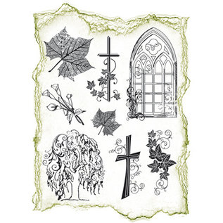 VIVA DEKOR (MY PAPERWORLD) Postzegel, 14x18cm, condoleance
