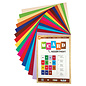 Karten und Scrapbooking Papier, Papier blöcke Set cartoncini, 250 gsm, A4, 30 fogli, in vari colori, 15 x 2