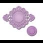 Spellbinders Embossing en ponssjabloon, decoratieve lijst, 2 delen