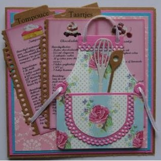 Marianne Design Cutting and embossing templates SET, Craftables, Apron, 9 x 11 cm