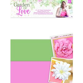 BASTELSETS / CRAFT KITS Formfoam, for shaping and creating 3D flowers and other projects!