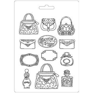 Stamperia und Florella Zachte A4-vorm, voor krijt, zeep, hars, parfumerie en nog veel meer