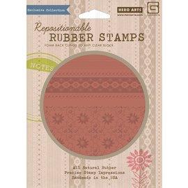 Prima Marketing und Petaloo NEW! Exclusive motif stamp, large A5 format!