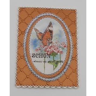 Marianne Design Fotovellen, A4, fluisterend, voor ontwerp op kaarten, albums, collages, scrapbooking en nog veel meer