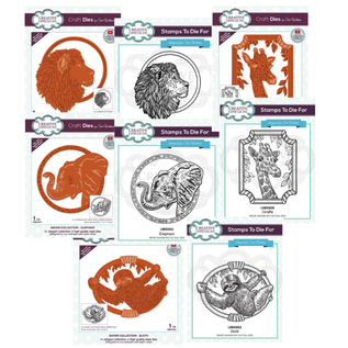 CREATIVE EXPRESSIONS und COUTURE CREATIONS Brand new! Stamp + cutting template collection