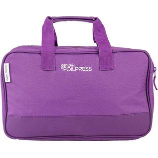 Gemini  Foilpress Tragetasche, Purple