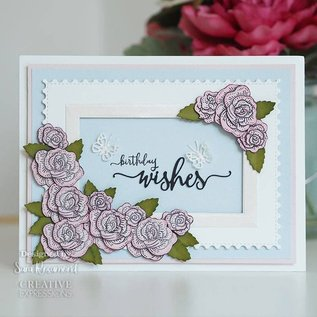CREATIVE EXPRESSIONS und COUTURE CREATIONS Stamping and punching at the same time!