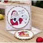 Crafter's Companion Motiefstempel, Kerstmis, afmeting: 10 x 15 cm, Ho Ho Ho