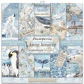 Stamperia Designer pad, Stamperia Antarctic, 30,5 x 30,5 cm