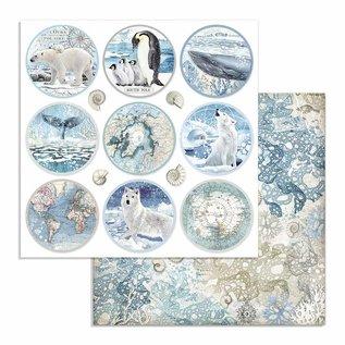 Designerblock, Stamperia Antarctic, 30,5 x 30,5 cm