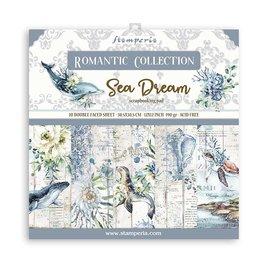 Blocco di design, Stamperia, Sea Dream, 30,5 x 30,5 cm