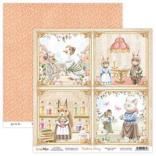 HCP Bedtijdinzameling, papierblok 20,3 x 20,3 cm
