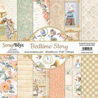Bedtime Kollektion, Papierblock 20,3 x 20,3 cm