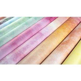 Papierset, grunge, heldere levendige kleuren, 40 dubbelzijdige vellen, 20 ontwerpen, 180 g/m² karton
